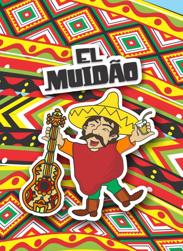 Bloco Muido - Celular - Mexicano 1