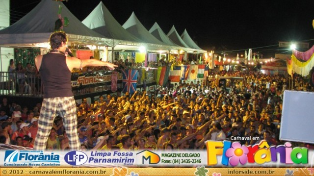 Foto do Carnaval de Florânia-RN  ano 2012